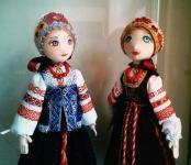 Фольклорные куклы  Татьяны Мистюкевич